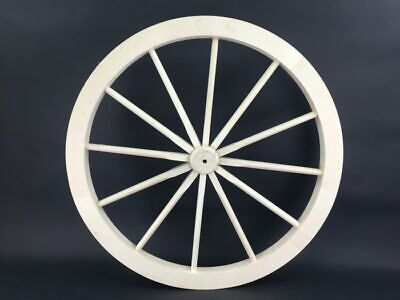 Cart Wheel Wagon Large 70 Solid Wood Best Quality Details Design 2 Woodeeworld