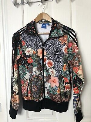 Adidas Woman Bomber Jacket Floral Limited Edition