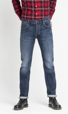 Mens Lee Daren slim straight fit jeans 'Intense blue' FACTORY SECONDS L229