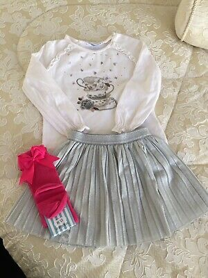 Mayoral Girls Spanish Outfit With Socks Age 2 Years Romany