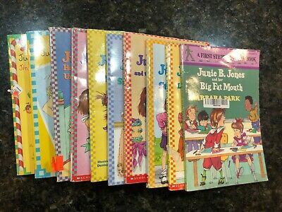 Junie B Jones lot of 10 Books, Nice condition, random order