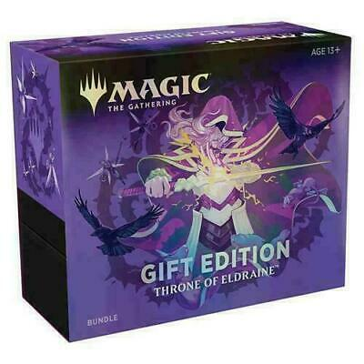 Throne of Eldraine Holiday Gift Bundle MTG Collector Booster PRESALE SHIPS 11/15
