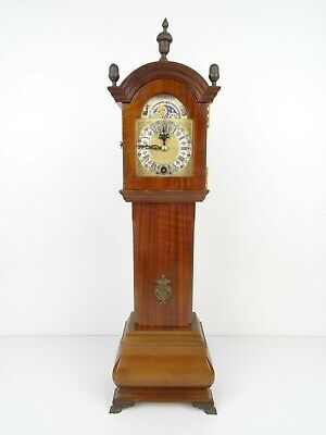 Vintage Antique Mini Baby ORFAC 8 day Mantel Clock Dutch (Warmink WUBA era)