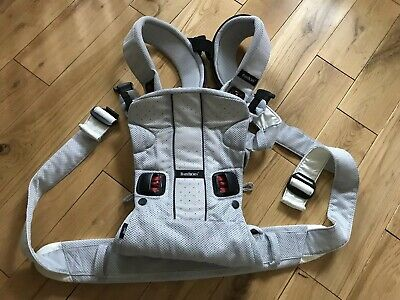 Baby Bjorn Baby Carrier One Air Silver Mesh