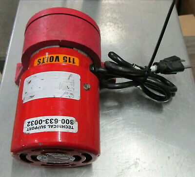 VIBCO ELECTRIC VIBRATOR SPR-60 Used Take Out Tested (d35)