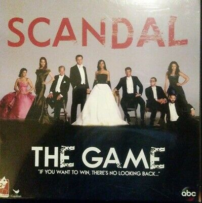Brand New, Scandal, The Game ABC Cardinal Board Game Trivia Party New in Box