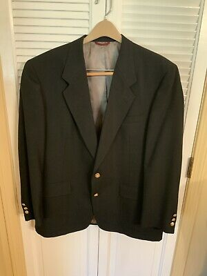 Austin Reed London Dillards Black Suit Jacket Blazer With Carrying Case Mens 44r 20 00 Picclick