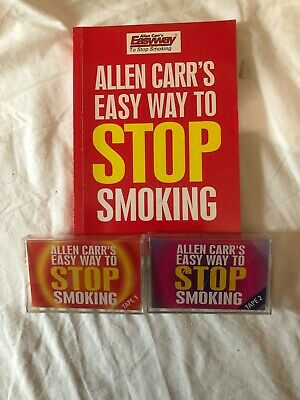 Allen Carrs Easy Way to STOP SMOKING audio Cassette tapes and Book