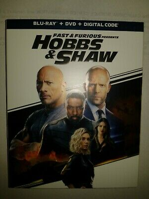 Fast & Furious Presents: Hobbs & Shaw [Blu-ray/DVD] [2019] w/ Slipcover
