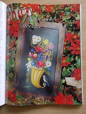 Folk Art & Decorative Painting Vol 4 #6~Angels~Teddy~Tray~Wattle Cushion~Fan Box