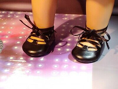 American Girl Doll's  Black Irish Dance Shoes Gillies for Irish Dance Outfit EUC