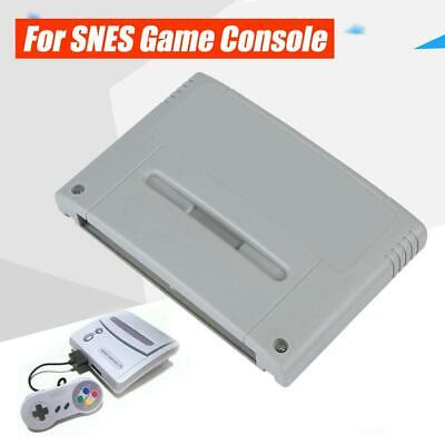 Video Game Cartridge Console Card 48M bit for Super Nintendo SFC SNES MMC/TF ABS