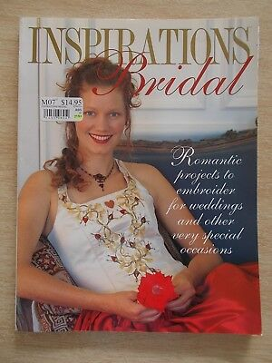 Inspirations~BRIDAL~Embroidery Projects~Handbag~Keepsakes~Cushion~Garter~Pouch