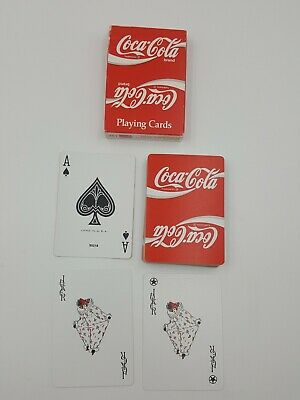 Coca-Cola Deck of Playing Cards Stock Original Packaging