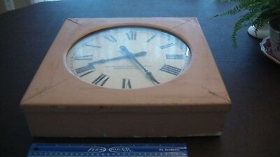 Antique Clock - The Standard Electric Time Co., Springfield Mass