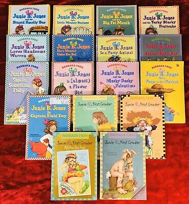 Lot of 17 Junie B.Jones chapter books By Barbara Park, NO Duplicate