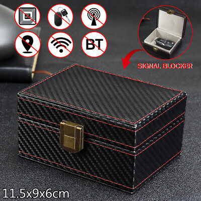 Car Key Faraday Box Keyless Signal Blocker Anti Thief Safe RFID Blocking Pouch