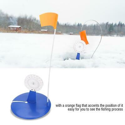 Ice Fishing Tip-up with Braking Function Metal Pole Flag Tip up corrosion W5U8