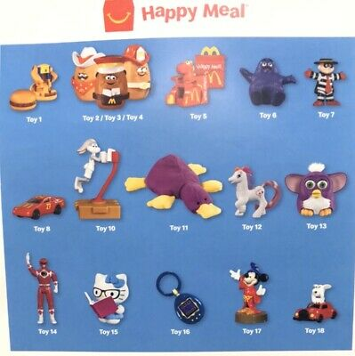 2019 McDonalds 40TH ANNIVERSARY The Surprise Happy Meal Toys ( Toy #6)