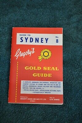 Gregory's Gold Seal Guide To Sydney 1961