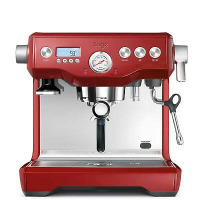 Breville BES920CRN11 Cups Espresso Machine - RED - Dinged