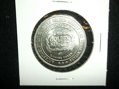 Golden Nugget $1 Gaming Token Las Vegas Nevada Nv Casino Chip Tokens Nev Chip