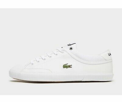 Lacoste Angha Mens Shoes Sneakers Comfy Lifestyle Casual White US 11, 13 New