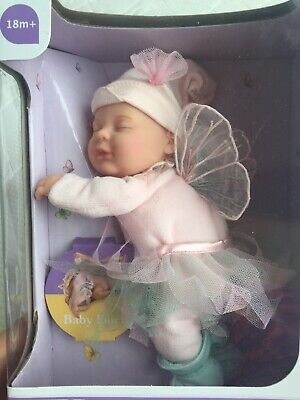 NEW ANNE GEDDES BABY Pink Fairy FILLED SOFT TOY DOLL  IN BOX