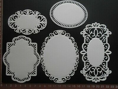 Die cuts - Mixed Mats, 5 pieces, Card Toppers, Embellishments - Lot 1