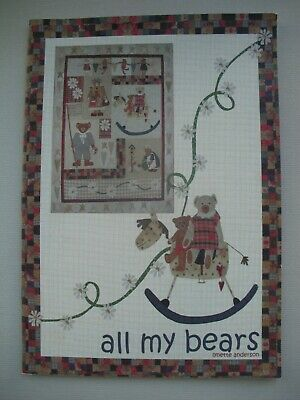 All My Bears - Lynette Anderson - Quilting Pattern Book