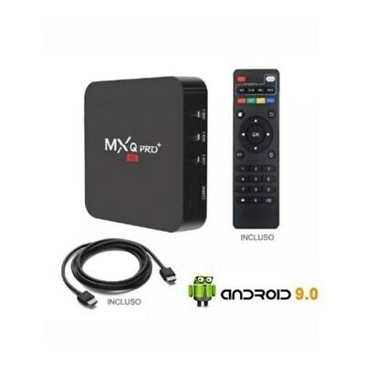Tv Box Android 8.1 4K Full Hd 1080P 2Gb 16Gb Ram Smart Decoder Wifi Mxq Pro