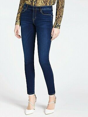 GUESS Los Angeles medium rise skinny jeans