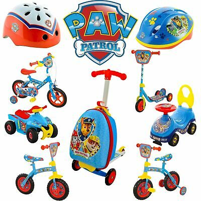 PAW Patrol Childrens Bike, Ride on, Quad, Scooter, Scootcase, helmet and more!