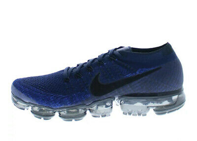 NIKE AIR VAPORMAX FLYKNIT 849558-400 college navy/black-game royal US10.5 Mint