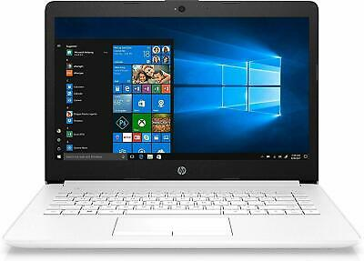 "HP Stream 14-CM0507SA 14"" AMD A4 Laptop PC 4GB Ram 64GB HDD Bluetooth Windows 10"