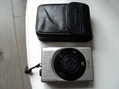 Vintage Canon Ixus APS 35mm Auto Focus Compact Zoom Camera With Original Case