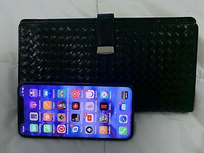 Womens Sabrina Scala Genuine Leather Woven Wallet