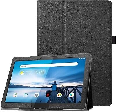 """Folio Stand Cover Case for Lenovo Tab M10 / Tab P10 10.1"""" Full HD Tablet PC 2018"""