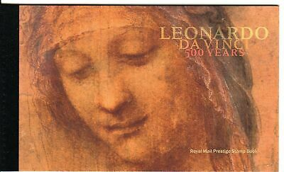 2019 Gb Royal Mail Leonardo Da Vinci 500 Years Prestige Stamp Book Dy28 Mnh