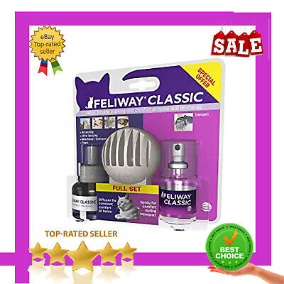 FELIWAY Classic the ULTIMATE kit. 30 day starter kit (Diffuser and Refill) 20ml