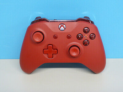 Microsoft Wireless Controller For Xbox One Consoles Red Grade B (890129)