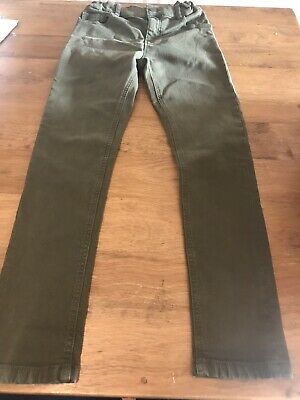 Boys Green M&S Jeans Age 9-10