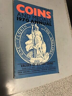 COINS AND MEDALS 1970 ANNUAL - SPINKS Catalogue ( Values Of British Coins )