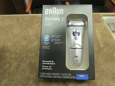 BRAUN Electric Shaver SERIES 1 Mint in Box Never Used MINT P12