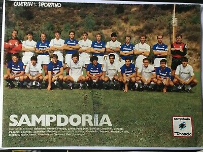 2 Autografi originali SAMPDORIA 85/86-Trevor Francis+G. Matteoli-IN PERSON!!