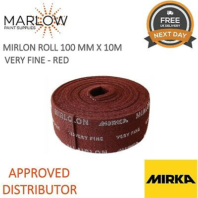Mirka MIRLON Total Rotolo Scotch Brite Rosso VF 10MT