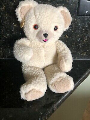 "Russ Berrie Lever Brothers 16"" Plush Snuggle Advertising Teddy Bear 1986"
