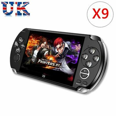 8GB Handheld PSP Game Console Player Built-in Games 5.0'' Portable Consoles Gift
