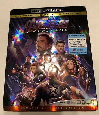 Avengers Endgame 4K Ultra HD + Blu-ray + Digital
