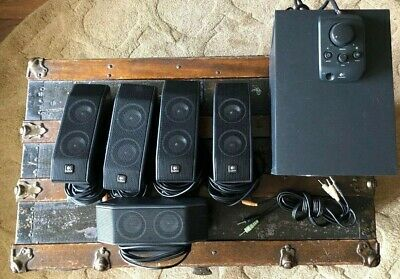Logitech X540 5.1 surround system with wired remote
